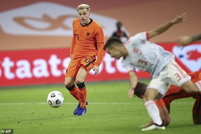Van de Beek ghi bàn, Hà Lan bất phân thắng bại với Tây Ban Nha - 3