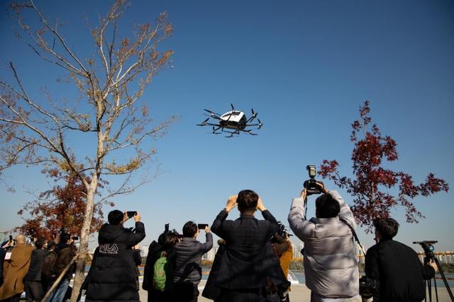 Hàn Quốc tưng bừng thử nghiệm taxi bay không người lái - 1