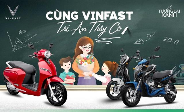 VinFast tặng quà tri ân thầy cô đón mừng ngày Nhà Giáo - 1