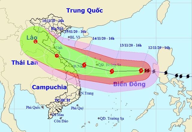 Nhiều kịch bản về hướng di chuyển của cơn bão số 13 - 2