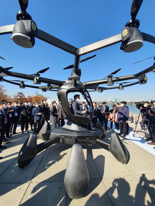 Hàn Quốc tưng bừng thử nghiệm taxi bay không người lái - 4
