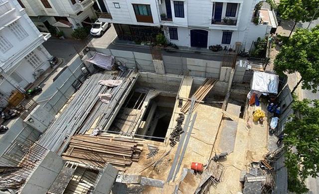 """Chủ tịch Ba Đình: Cấp phép nhà dân 4 tầng hầm là """"phù hợp, không vi phạm""""! - 1"""