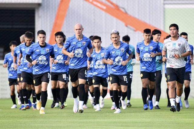 Tuyển Thái Lan chuẩn bị nghiêm túc cho trận gặp đội Thai-League All Stars - 1
