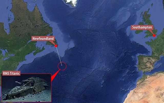 """Tour lặn biển """"để đời"""" - thám hiểm xác tàu đắm huyền thoại Titanic - 1"""