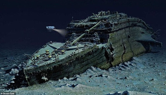 """Tour lặn biển """"để đời"""" - thám hiểm xác tàu đắm huyền thoại Titanic - 2"""