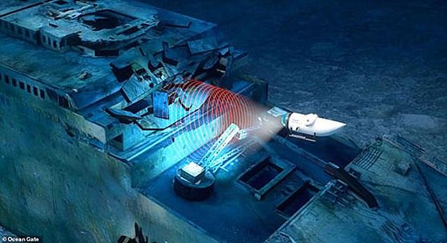 """Tour lặn biển """"để đời"""" - thám hiểm xác tàu đắm huyền thoại Titanic - 3"""