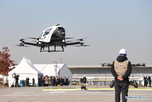 Hàn Quốc tưng bừng thử nghiệm taxi bay không người lái - 6