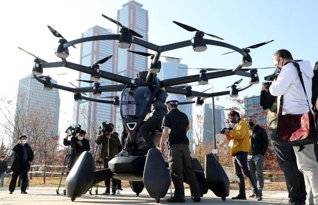 Hàn Quốc tưng bừng thử nghiệm taxi bay không người lái - 5