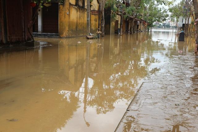 Người dân Hội An giúp nhau dọn lũ lụt rồi… đón bão - 1