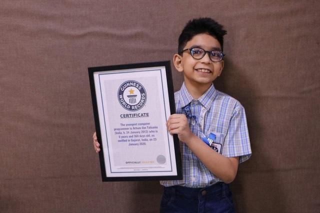 Ấn Độ: Cậu bé 6 tuổi trở thành lập trình viên máy tính trẻ nhất thế giới - 1