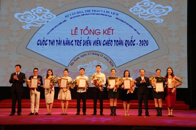 Trao 28 huy chương cho các tài năng trẻ sân khấu Chèo chuyên nghiệp - 4