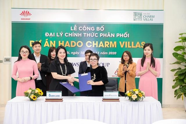 Queen Land – Đại lý phân phối chính thức dự án HaDo Charm Villas - 2