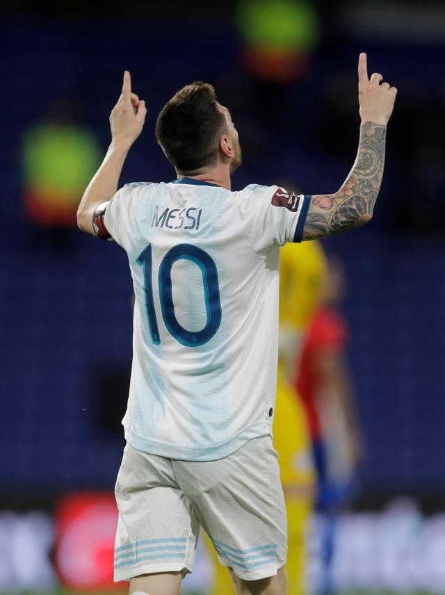 Messi đen đủi, Argentina đứt mạch toàn thắng ở vòng loại World Cup - 6