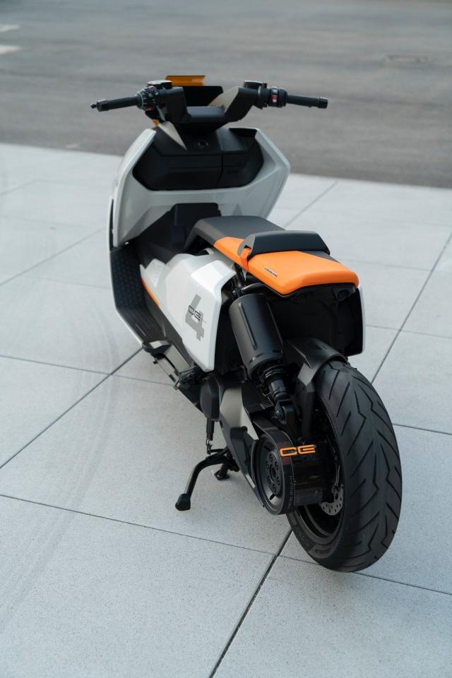 BMW CE04 - Cái nhìn mới về xe máy điện - 15