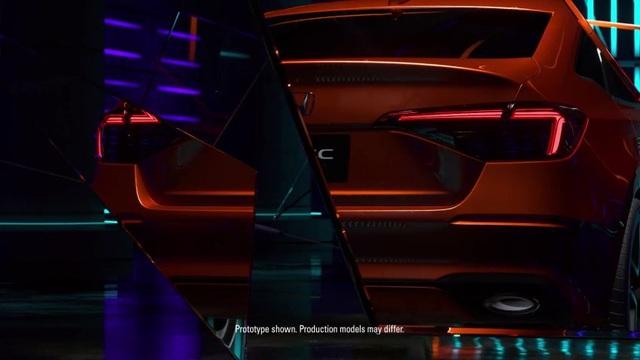 Honda nhỏ giọt hình ảnh Civic 2022 trước ngày ra mắt - 4
