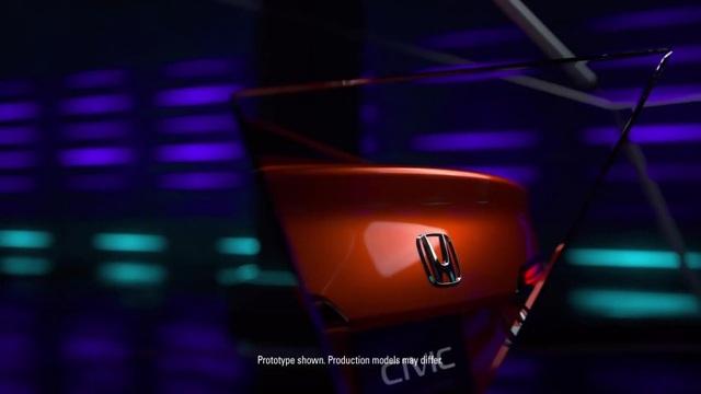 Honda nhỏ giọt hình ảnh Civic 2022 trước ngày ra mắt - 3