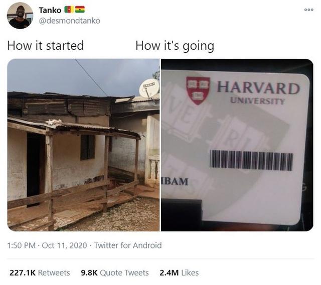 Hành trình từ nghèo đói tới Đại học Harvard của chàng trai Cameroon - 2