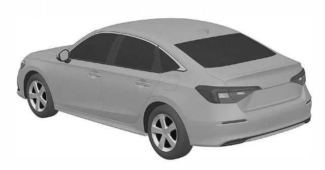 Honda nhỏ giọt hình ảnh Civic 2022 trước ngày ra mắt - 10