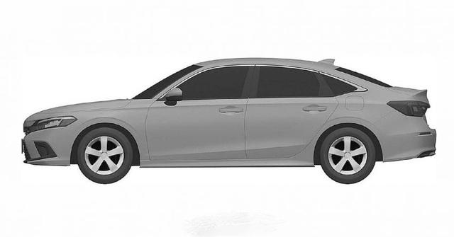 Honda nhỏ giọt hình ảnh Civic 2022 trước ngày ra mắt - 8