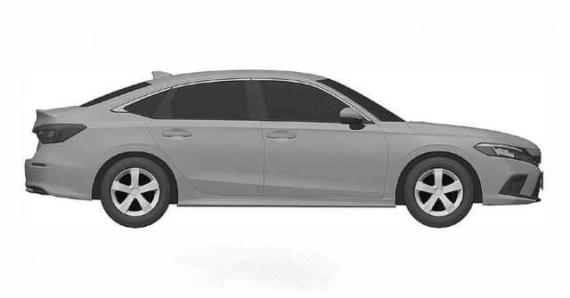 Honda nhỏ giọt hình ảnh Civic 2022 trước ngày ra mắt - 9