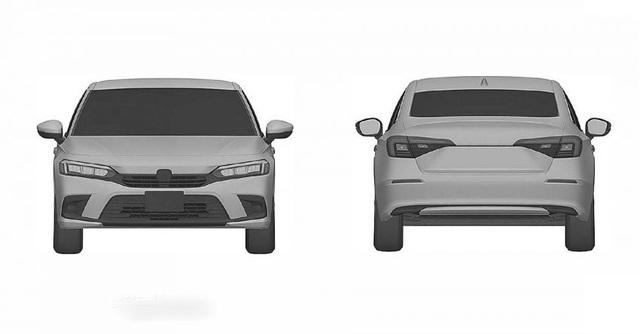 Honda nhỏ giọt hình ảnh Civic 2022 trước ngày ra mắt - 11