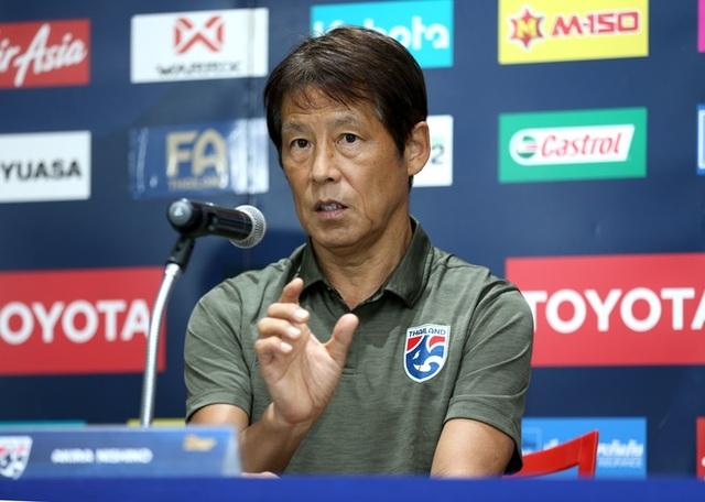 HLV Nishino hé lộ đội hình Thái Lan gặp Thai-League All Stars - 1