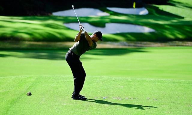 Vượt qua các đối thủ mạnh, tay golf Paul Casey dẫn đầu Masters 2020 - 2