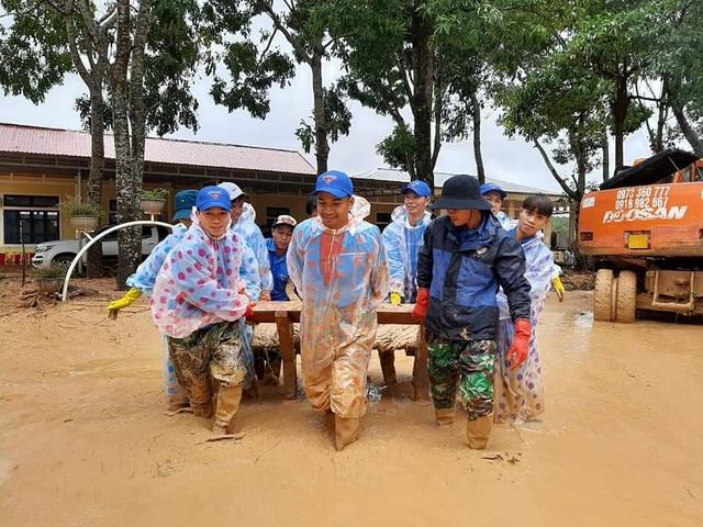 """Tuổi trẻ """"vực dậy"""" dải đất vùng biên giới bị thiệt hại nặng do mưa lũ - 10"""