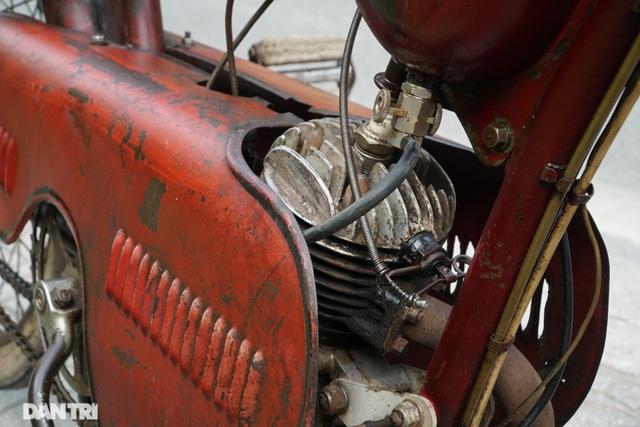 Chiếc xe máy cổ Georges Catte có tuổi đời gần 70 năm vẫn chạy tốt - 4