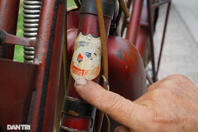 Chiếc xe máy cổ Georges Catte có tuổi đời gần 70 năm vẫn chạy tốt - 3
