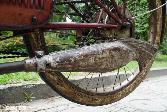 Chiếc xe máy cổ Georges Catte có tuổi đời gần 70 năm vẫn chạy tốt - 6