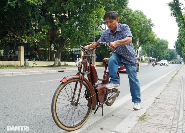 Chiếc xe máy cổ Georges Catte có tuổi đời gần 70 năm vẫn chạy tốt - 11