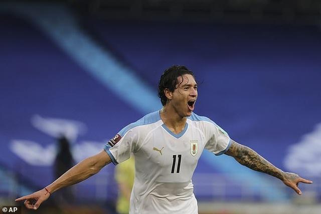 Cavani và Luis Suarez tỏa sáng ở vòng loại World Cup - 5