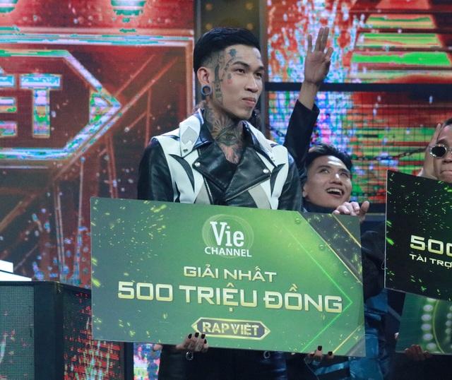 Dế Choắt đăng quang Quán quân Rap Việt 2020 - 1