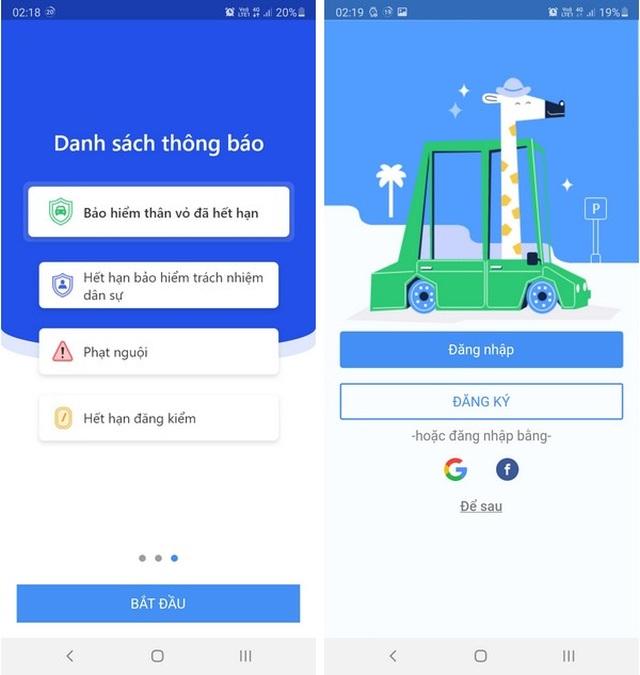 Hướng dẫn tra cứu phạt nguội giao thông bằng ứng dụng trên smartphone - 1