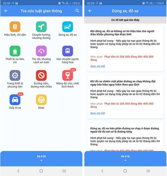 Hướng dẫn tra cứu phạt nguội giao thông bằng ứng dụng trên smartphone - 6