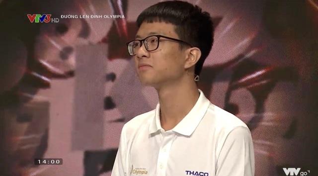 Có chiến thuật thông minh, nam sinh Hưng Yên thắng cuộc thi tháng Olympia - 2