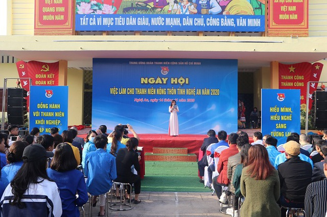 Trang bị kỹ năng tìm việc cho thanh niên nông thôn Nghệ An - 1