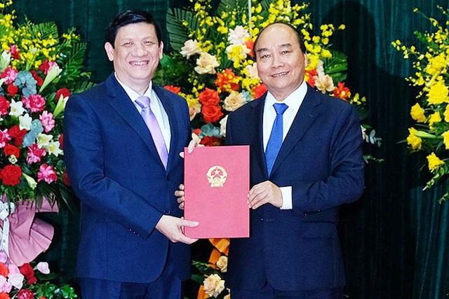 Thủ tướng nêu ra 10 yêu cầu với tân Bộ trưởng Bộ Y tế - 1