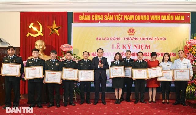 Bộ trưởng Đào Ngọc Dung giao nhiệm vụ tới Thanh tra Bộ LĐ-TBXH năm 2021 - 5