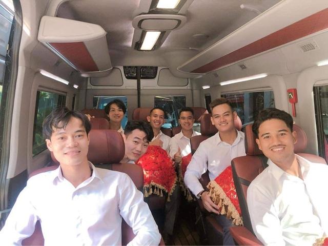 Nc247info tổng hợp: Tuấn Anh, Xuân Trường, Văn Toàn bê tráp trong đám cưới Công Phượng