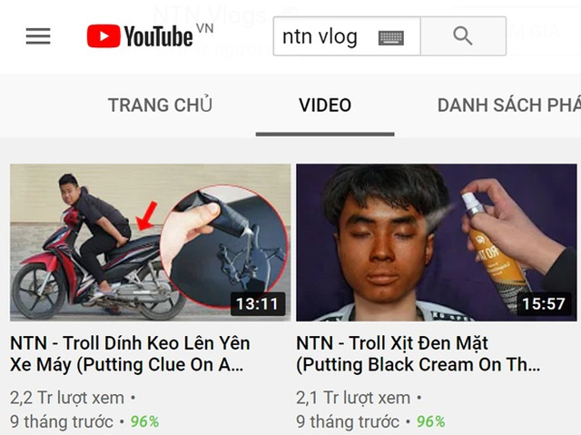 Chặn dòng tiền các kênh YouTube có nội dung nhảm nhí - 1