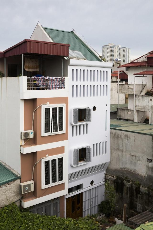 Nằm sâu trong ngõ nhỏ, ngôi nhà Hà Nội vẫn nổi bật bởi thiết kế không ngờ - 1