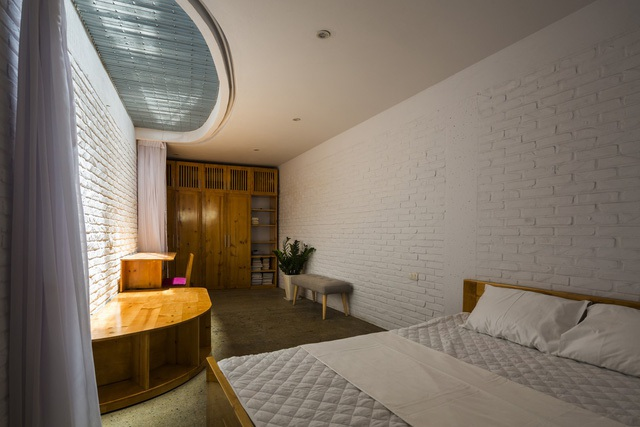 Nằm sâu trong ngõ nhỏ, ngôi nhà Hà Nội vẫn nổi bật bởi thiết kế không ngờ - 7