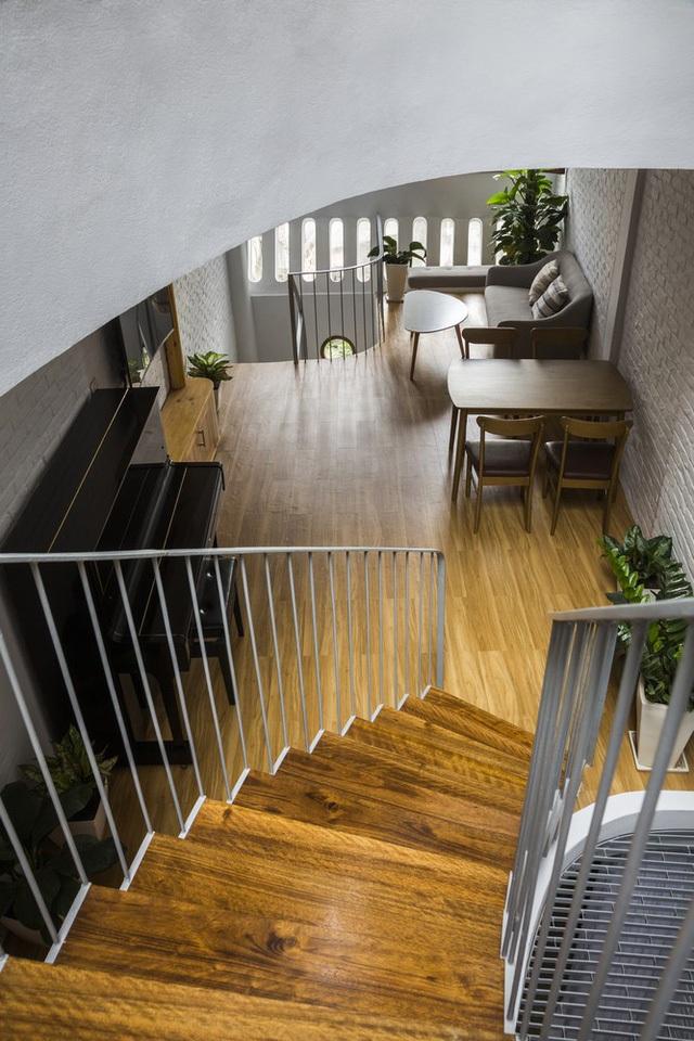 Nằm sâu trong ngõ nhỏ, ngôi nhà Hà Nội vẫn nổi bật bởi thiết kế không ngờ - 12