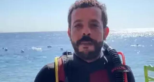 Ở dưới biển suốt 6 ngày trong nỗ lực lập kỷ lục thế giới mới - 1