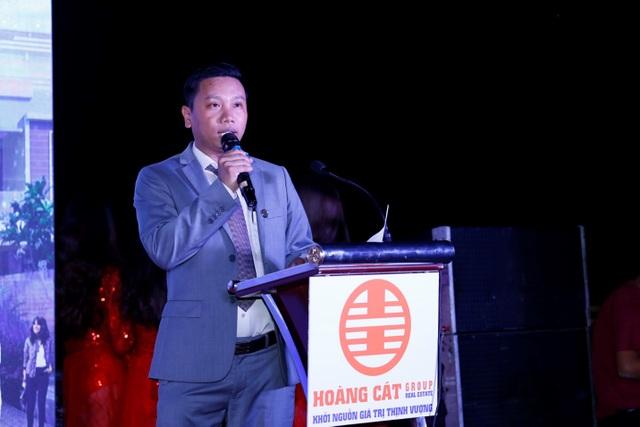 Ông Lê Công Hoàng - Chủ tịch kiêm Tổng Giám đốc Công ty chia sẻ với quý đối tác về các kế hoạch sắp tới