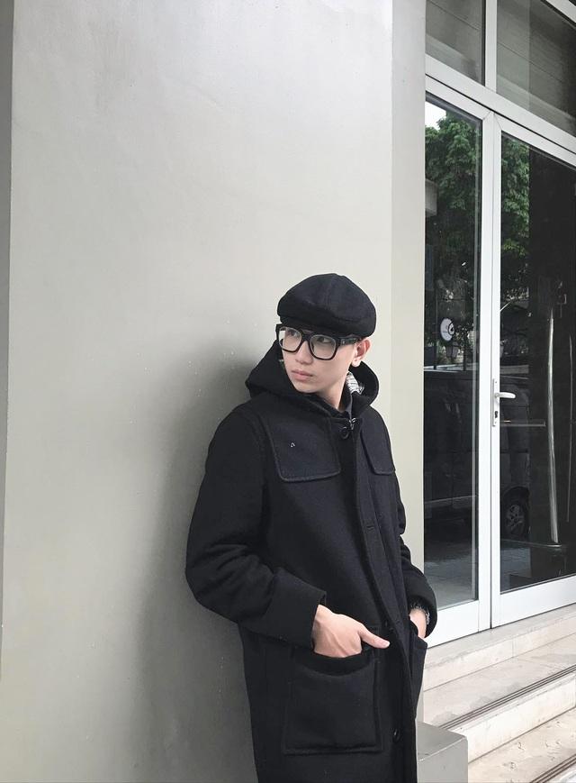 """Chàng trai cao 1m76 đạt giải Nhất """"Nam sinh thanh lịch"""" THPT Trần Phú - 9"""