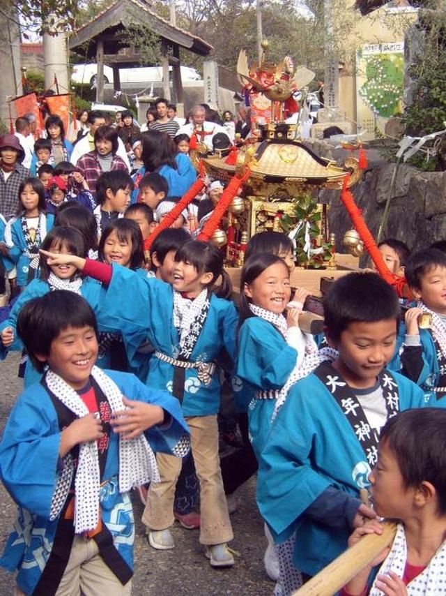 """Lễ hội thu hoạch độc đáo tại """"nơi thần linh tụ họp"""" ở Nhật Bản - 3"""
