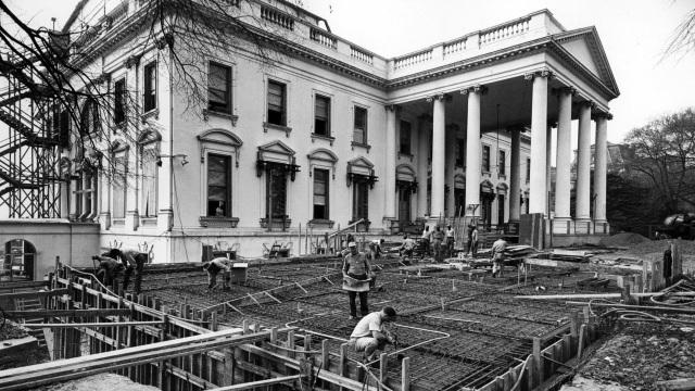 Tận mắt xem nơi ở đặc biệt của các Tổng thống Mỹ bên trong Nhà Trắng - 1